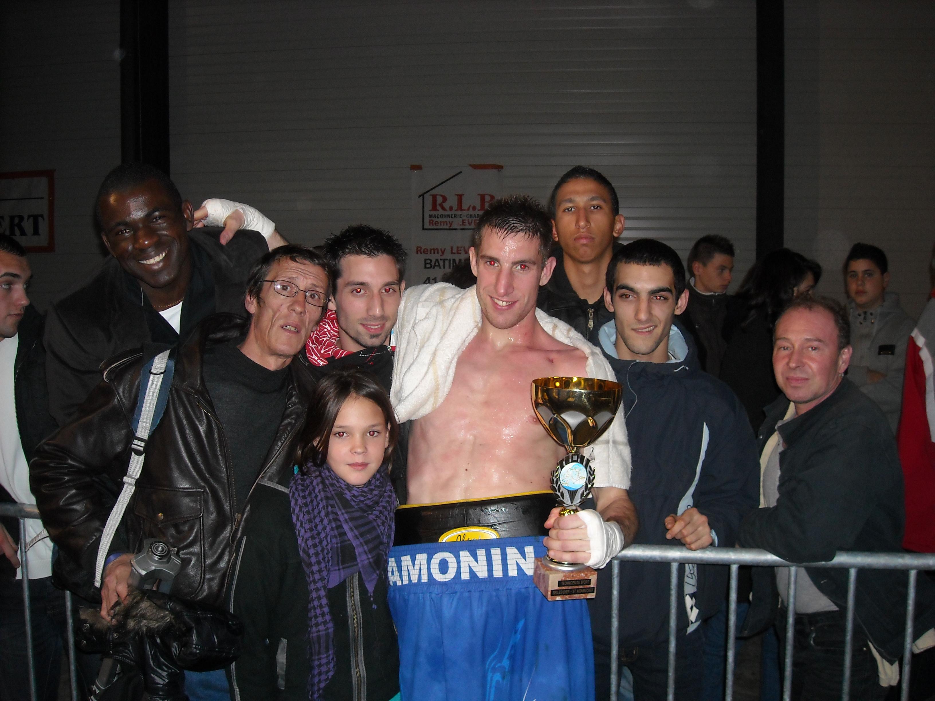 Yoann Camonin, coordinateur entraîneur du club a stoppé sa cariière en mai 2011.